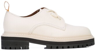 Proenza Schouler Leather Oxfords