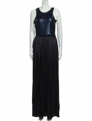 Lanvin 2012 Long Dress Blue