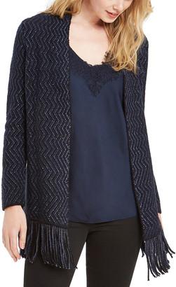Nic+Zoe Plus Size Sparkle And Shine Cardigan