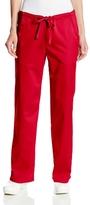 Cherokee Women's Tall Scrubs Luxe Low Rise Drawstring Pant