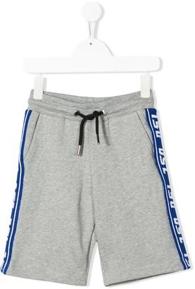 Diesel logo band shorts