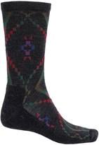 Woolrich Blanket-Pattern Dress Socks - Merino Wool Blend, Crew (For Men)