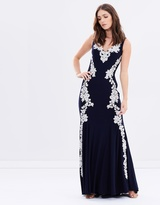 Ava Embroidered Gown