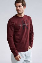 Calvin Klein Reissue Logo Long Sleeve Tee