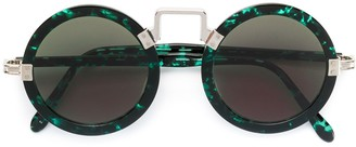 Jean Paul Gaultier Pre Owned Circle Shaped Sunglasses
