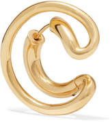 Charlotte Chesnais Ego Gold Vermeil Earring - one size