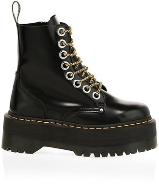 Dr. Martens Jadon Max Leather Combat Boots