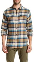 Burnside Romo Long Sleeve Regular Fit Plaid Shirt