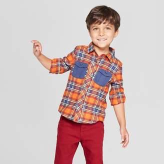 Osh Kosh Genuine Kids From Oshkosh Genuine Kids® from OshKosh Toddler Boys' Long Sleeve Flannel Shirt - 12M