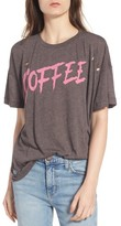 Wildfox Couture Women's Coffee Destroyed Tee