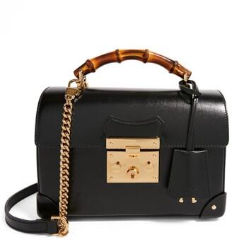 Gucci Small Bamboo Padlock Shoulder Bag