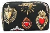 Dolce & Gabbana Dolce E Gabbana Women's Black Polyamide Beauty Case.