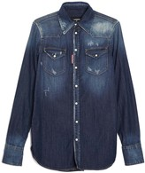 DSQUARED2 24-7 Denim Shirt