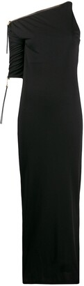 Gianfranco Ferré Pre Owned 1990s One Shoulder Fitted Dress