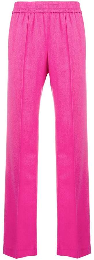 MSGM elasticated waist trousers
