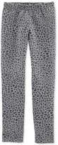 Carter Little & Big Girl Leopard-Print Pocket Pants
