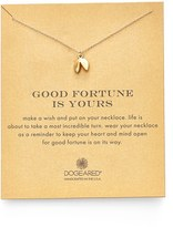 Dogeared Fortune Cookie Pendant Necklace