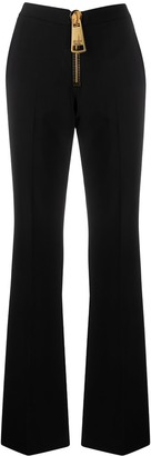 Moschino Zipped Flared Trousers