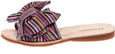 Jeffrey Campbell Colorful Canvas Slippers