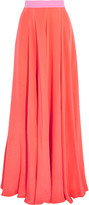 Roksanda Mytton pleated silk-blend maxi skirt