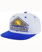 adidas Golden State Warriors White Diamond Snapback Cap