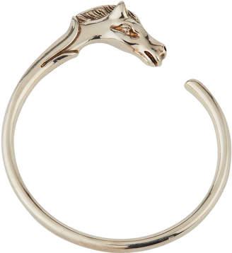 Hermes Estate Horse-Head Bracelet