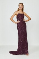 Thumbnail for your product : Coast All Over Sequin Cross Over Back Maxi Dress