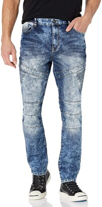 Southpole Men's Comfortable Fashion Skinny Stretch Denim Pants with Various Designs