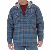 Wrangler Riggs Workwear Hooded Flannel Jacket