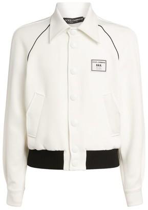 Dolce & Gabbana Crepe Contrast-Trim Jacket