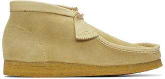 Clarks Beige Made In Italy Wallabee Boots