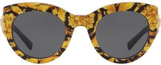 Tribute barocco print sunglasses