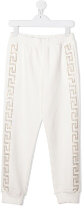 Versace Side-Studded Track Pants