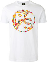 Paul Smith multi-coloured graphic branded T-shirt - men - Organic Cotton - L