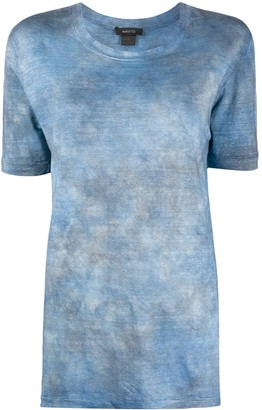 Avant Toi acid wash T-shirt