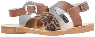 Freshly Picked Sanibel Sandal (Infant/Toddler/Little Kid) (Cognac/Leopard) Girl's Shoes
