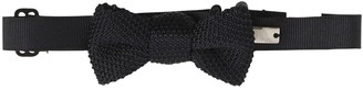 Emporio Armani Silk Knit Bow Tie