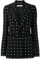 Givenchy printed blazer - women - Silk/Spandex/Elastane/Viscose - 40
