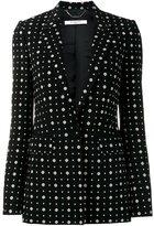 Givenchy printed blazer - women - Viscose/Spandex/Elastane/Silk - 40