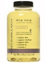 Deep Steep Lavender Chamomile Bubble Bath
