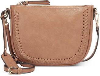Sole Society Riza Faux Leather Crossbody Bag