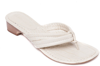Bernardo Moc-Croc Demi-Wedge Sandals