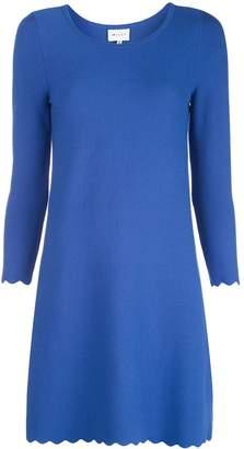 Milly Aline scallop mini dress