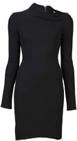 Helmut Lang Long sleeve fitted dress