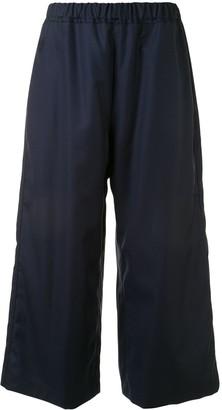 Sofie D'hoore Wide-Leg Wool Trousers