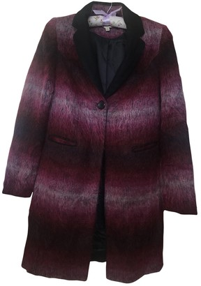 Clements Ribeiro Pink Wool Coat for Women