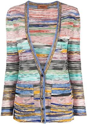 Missoni Marl-Knit Buttoned Cardigan