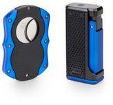 Colibri Monza Lighter & Cigar Cutter Gift Set