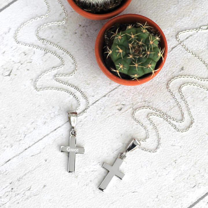 f0ecef1d4e Cross Necklace - ShopStyle UK