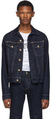 Versace Indigo Pure Denim Jacket